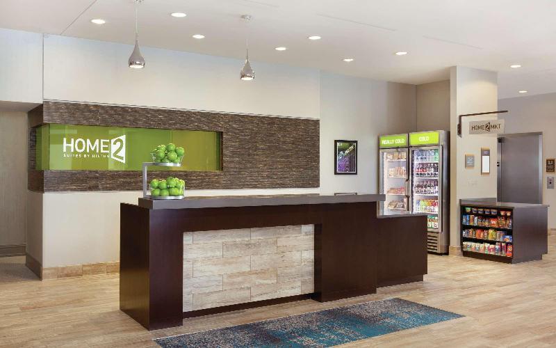 Lobby Home2 Suites By Hilton Austin North/near The Domai