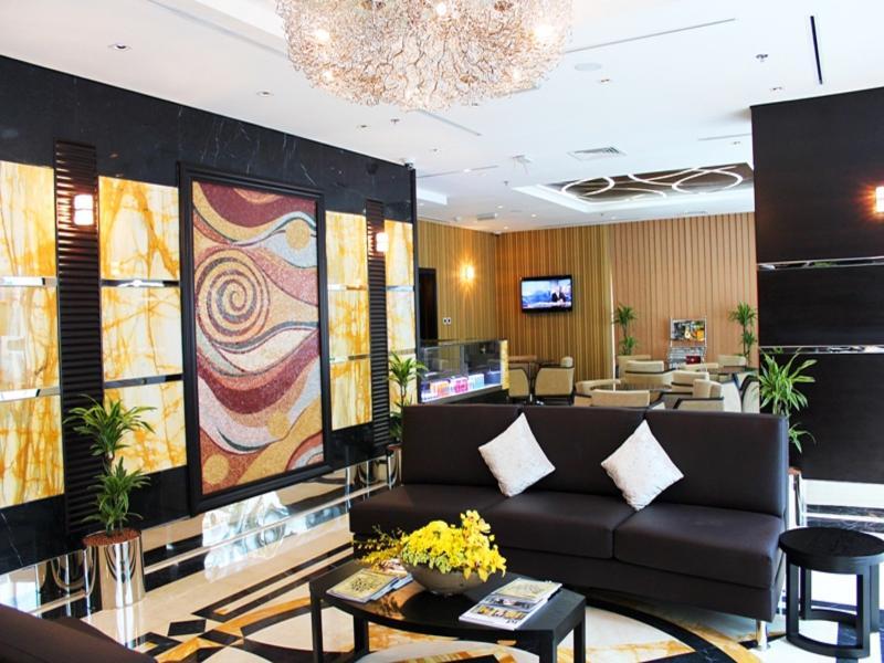Lobby Al Diar Sawa Hotel Apartments
