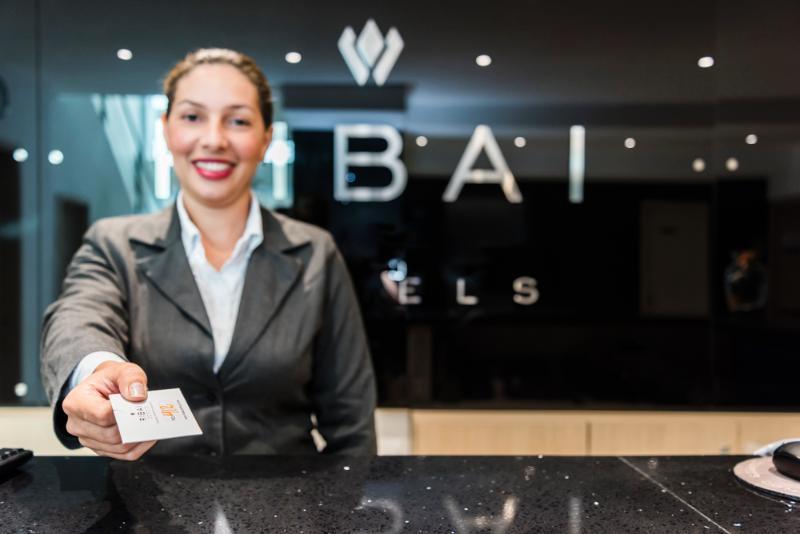Lobby Ribai Hotel Santa Marta