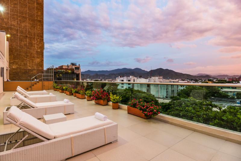 Pool Ribai Hotel Santa Marta