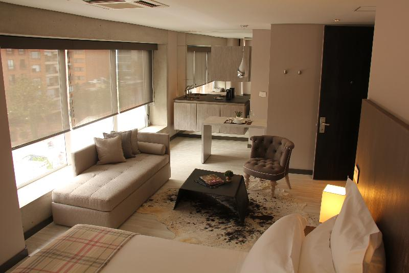 General view Hotel Cityflats Bogotá