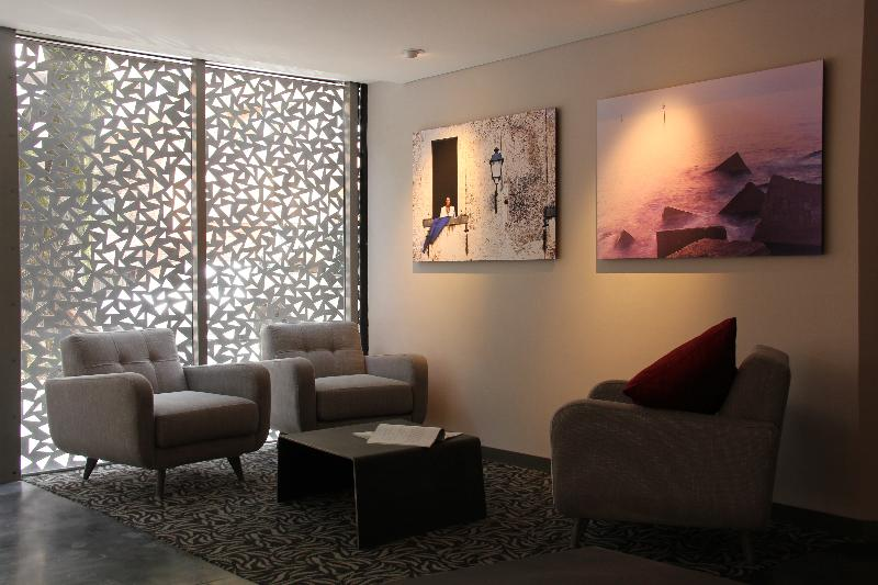 Lobby Hotel Cityflats Bogotá