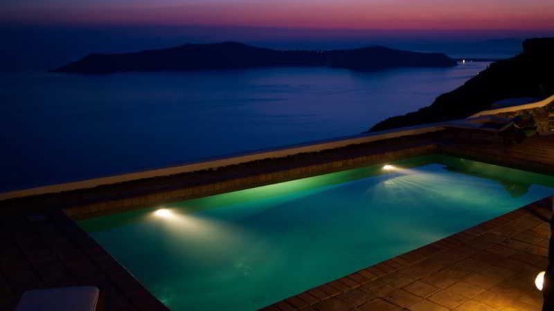 Pool The Vasilicos Caldera Heritage Suites