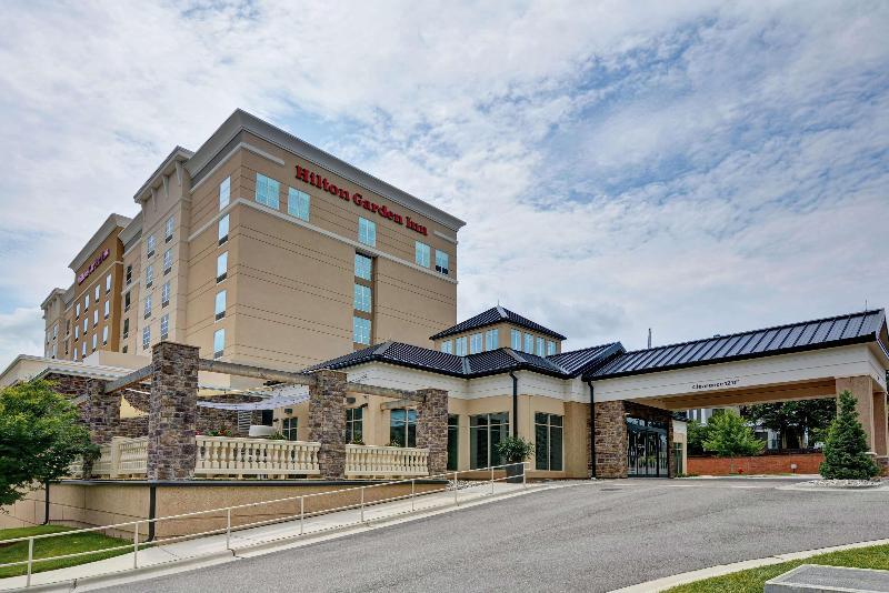 General view Hilton Garden Inn Raleigh/crabtree Valley, Nc
