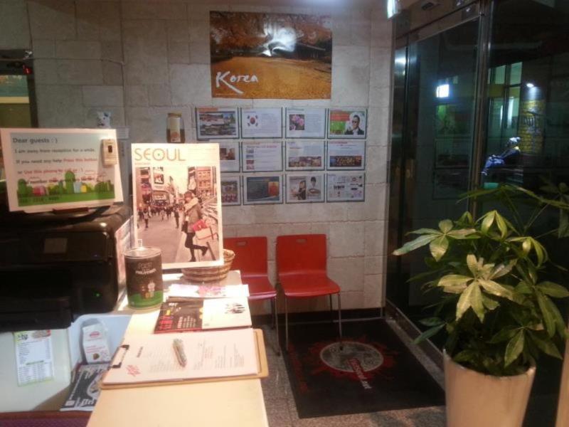 Lobby Fortune Hostel Jongno