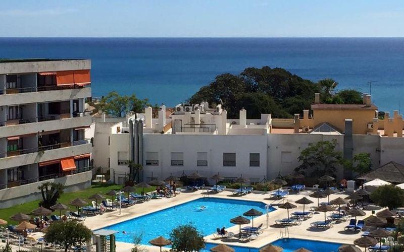 General view Apartamentos La Nogalera