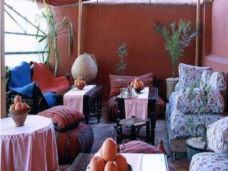 Terrace Riad Sacr