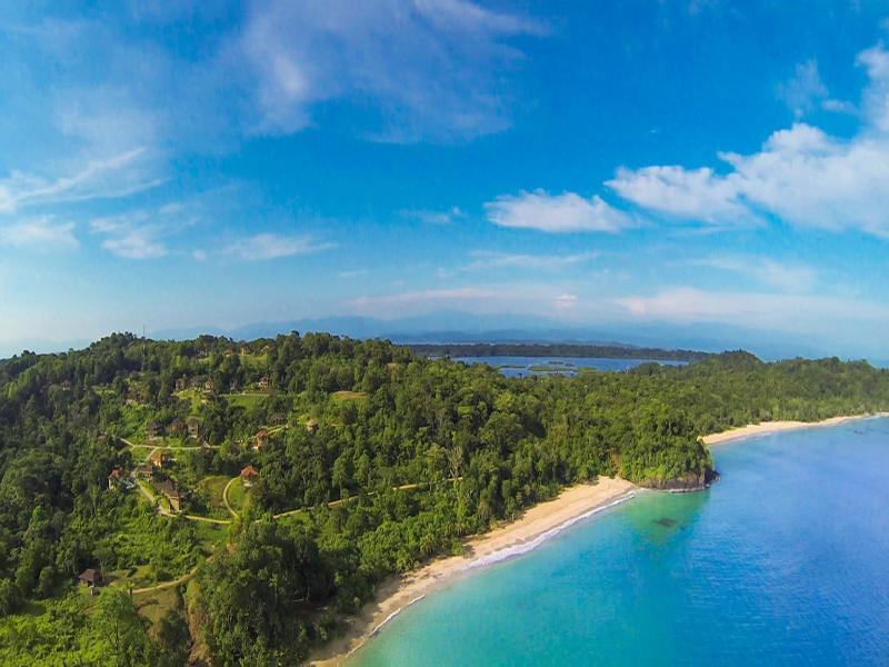 Red Frog Beach Island Resort Certified For Its: Mapa Y Ubicación De Red Frog Beach Island Resort, Ciudad