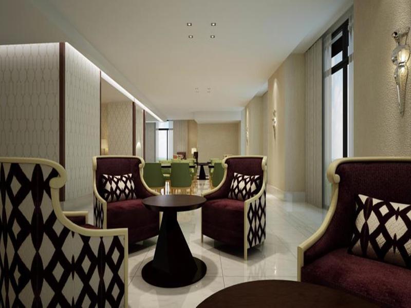 Lobby Marriott Hotel Jabal Omar Makkah