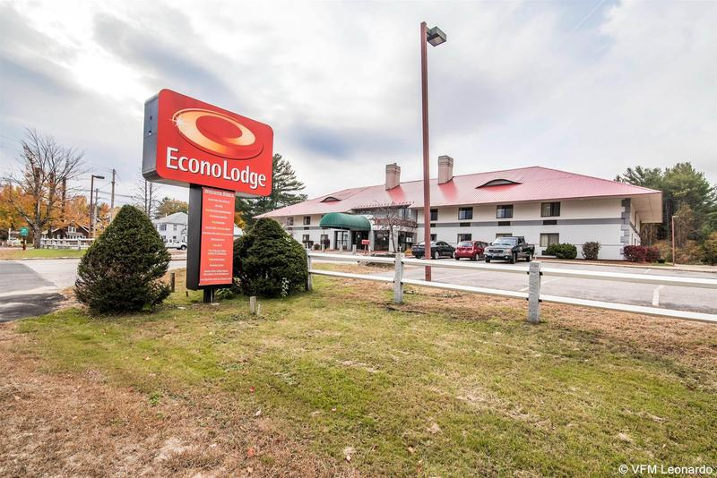 General view Econo Lodge Near Plymouth State University