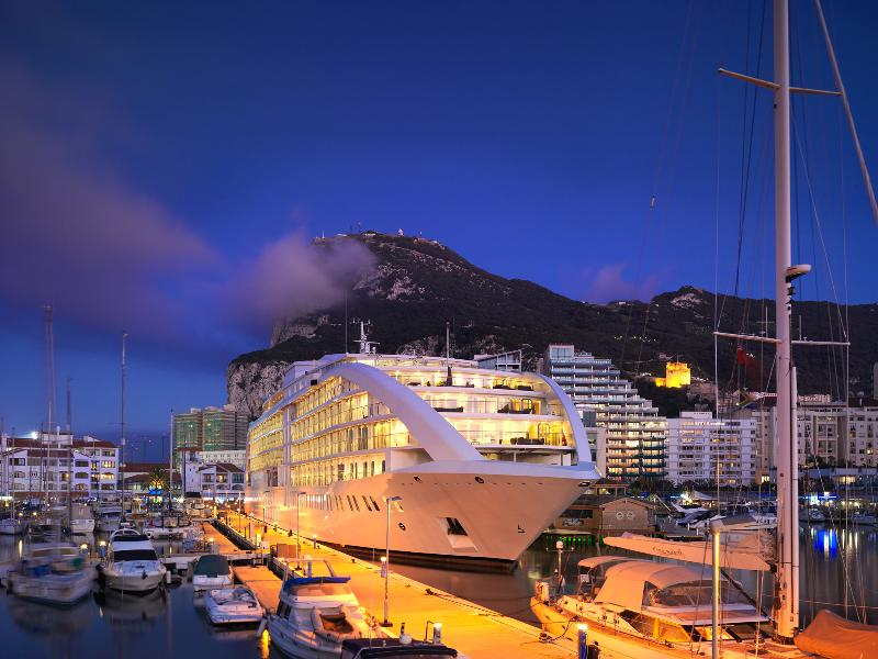 General view Sunborn Gibraltar