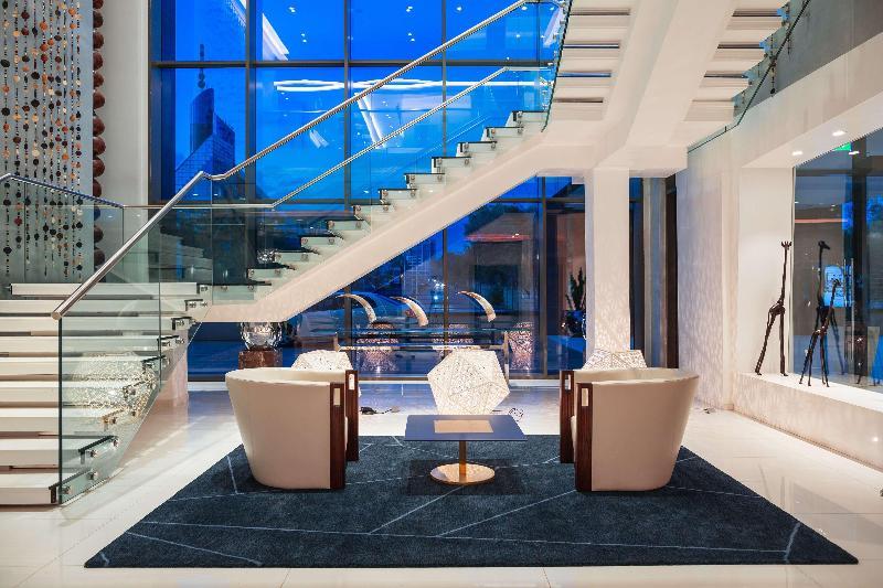 Lobby Radisson Blu Nairobi