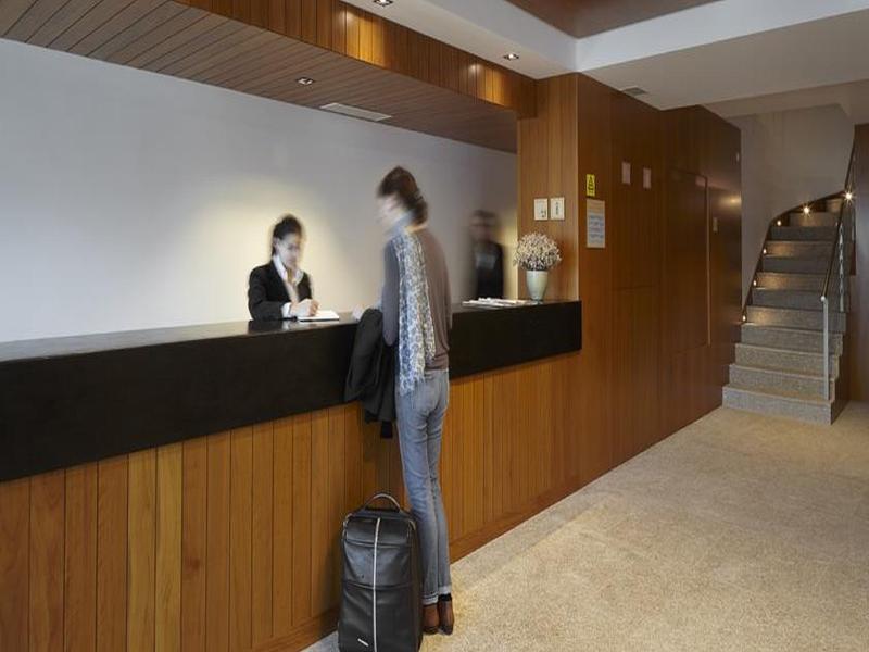 Lobby Abrigo Da Montanha Hotel Rural & Spa