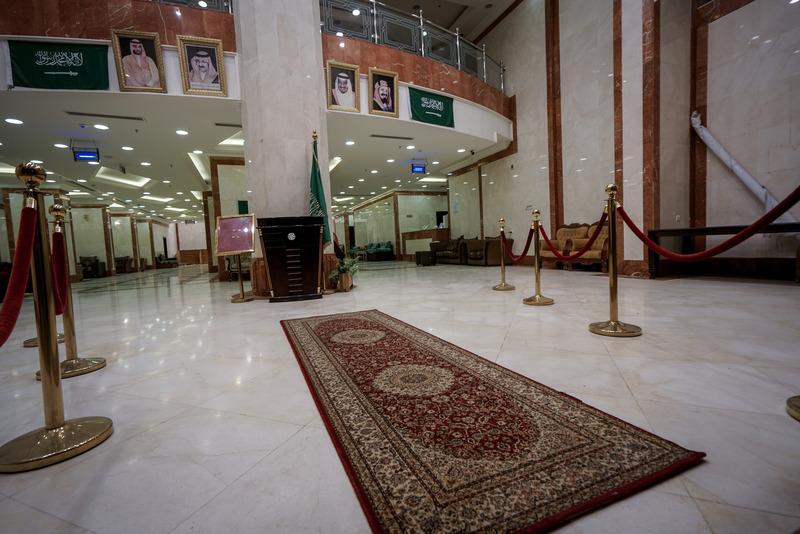 Lobby Qasr Alazizia Hotel
