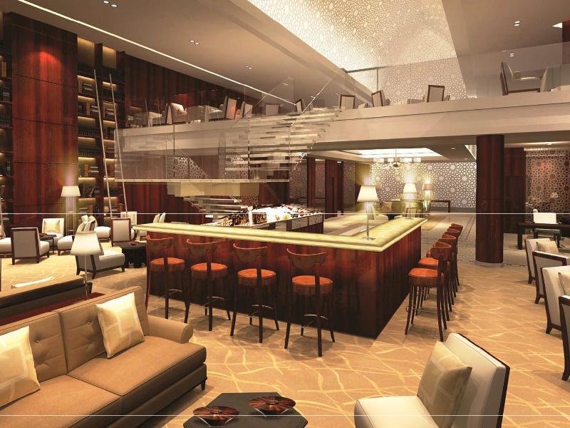 Bar Bab Al Qasr Hotel By Millennium