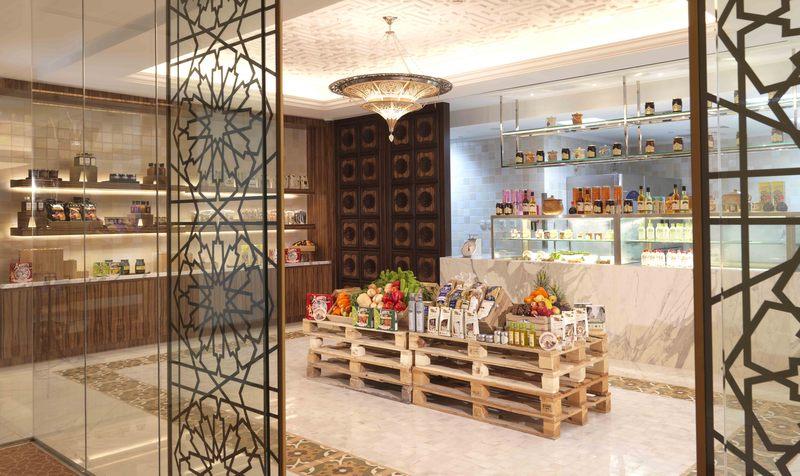 Restaurant Bab Al Qasr Hotel By Millennium
