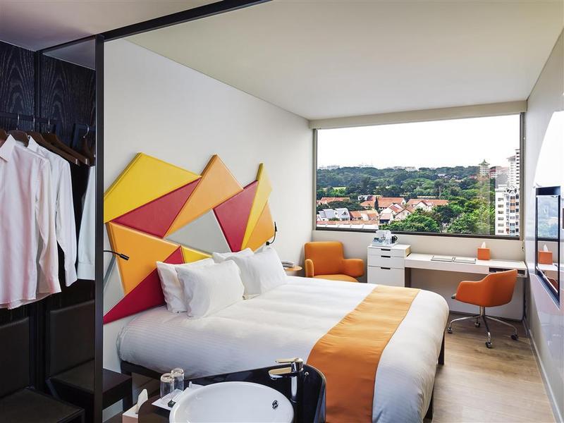Habitaciones en el hotel ibis styles singapore on for Habitaciones comunicadas