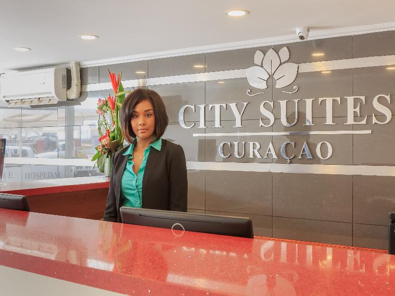 Lobby City Suites Curacao