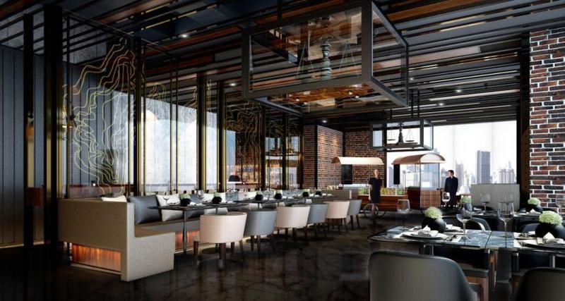 Restaurant Compass Skyview Hotel