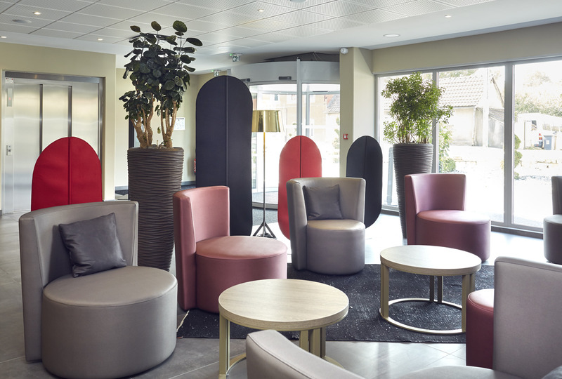 Lobby Quality Hotel Belfort Centre