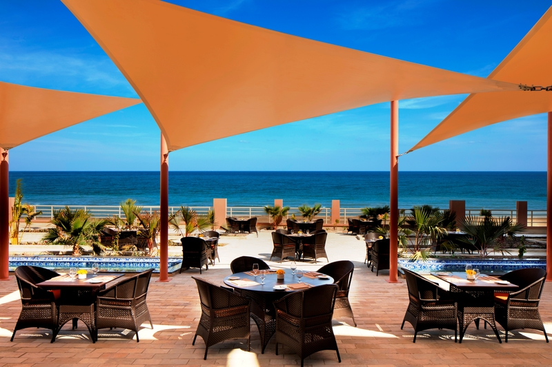 Terrace Radisson Blu Hotel Sohar