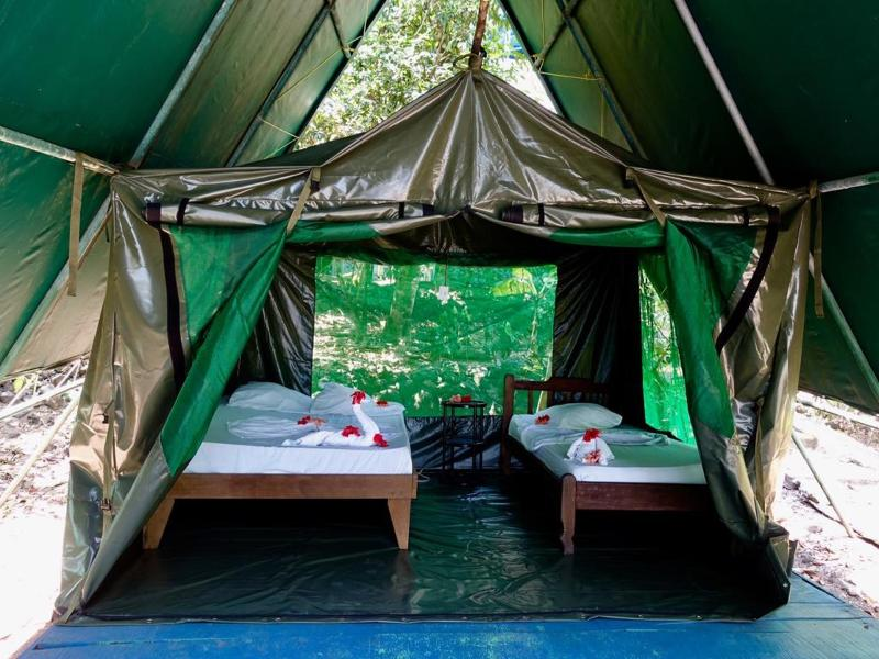 Room Corcovado Adventures Tent Camp