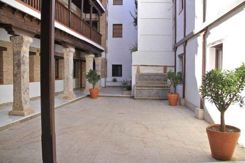Lobby Casa De La Alberca