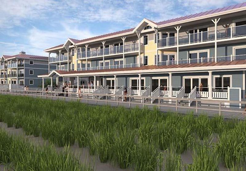 General view Bethany Beach Ocean Suites Residence Inn
