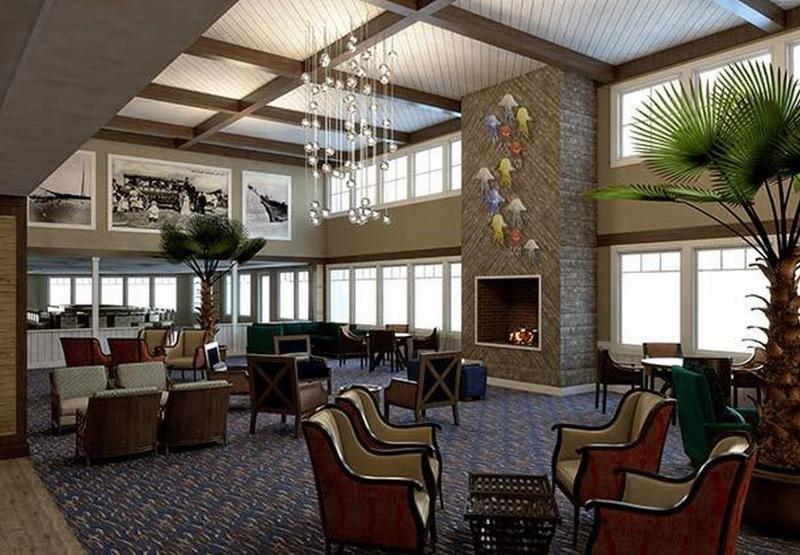 Lobby Bethany Beach Ocean Suites Residence Inn