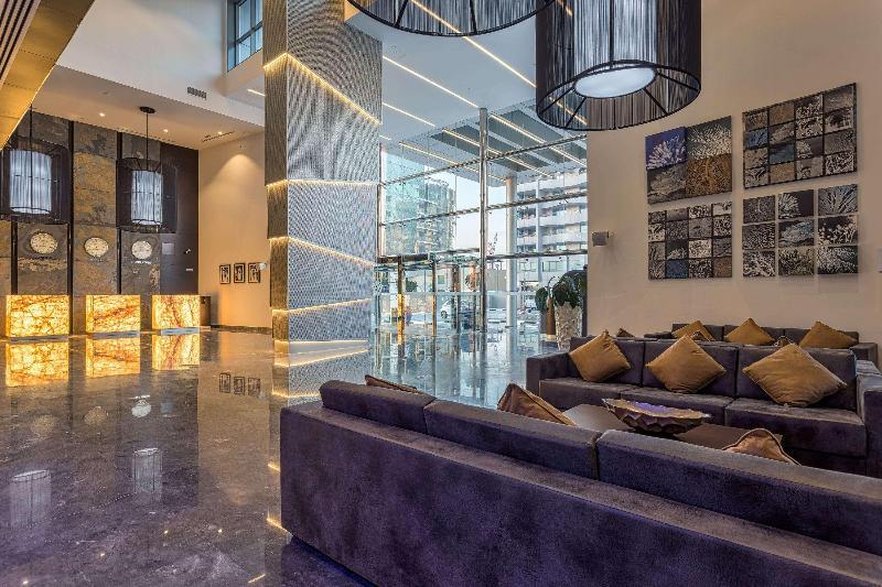 Lobby Wyndham Dubai Marina