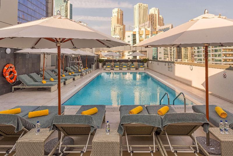 Pool Wyndham Dubai Marina
