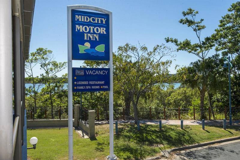 General view Mid City Motor Inn Mackay