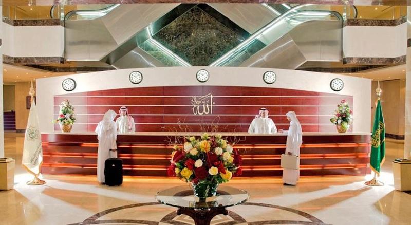 Lobby Makarem Umm Alqura Hotel
