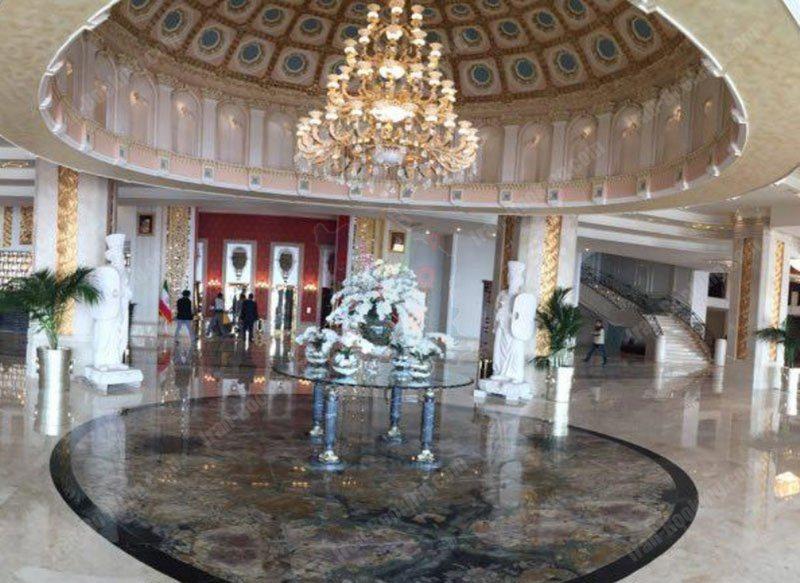 Lobby Palace Espinas Hotel Tehran