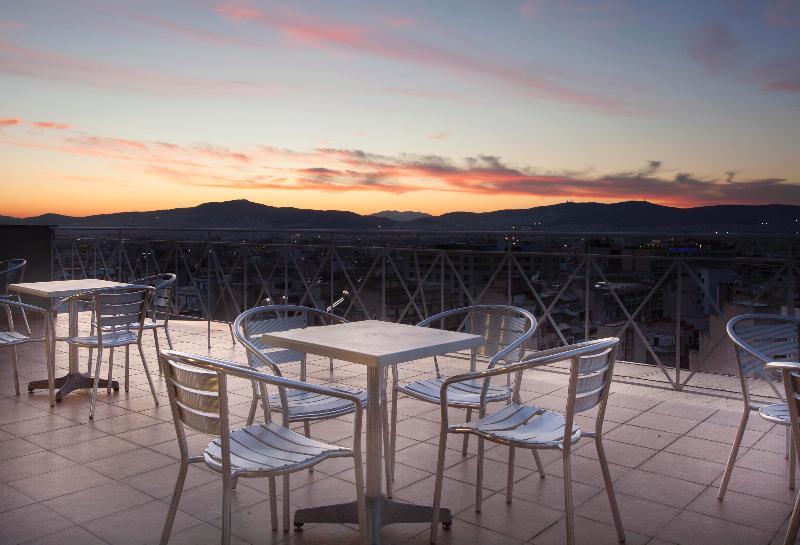 Terrace Best Western My Athens Hotel