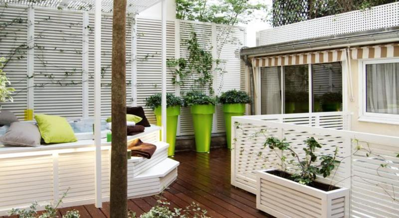 Terrace Le Mathurin Hotel & Spa