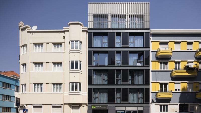 General view Lisbon Serviced Apartments - Parque