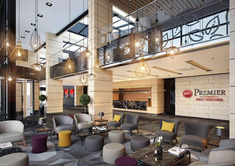 Lobby Best Western Premier Sofia Airport