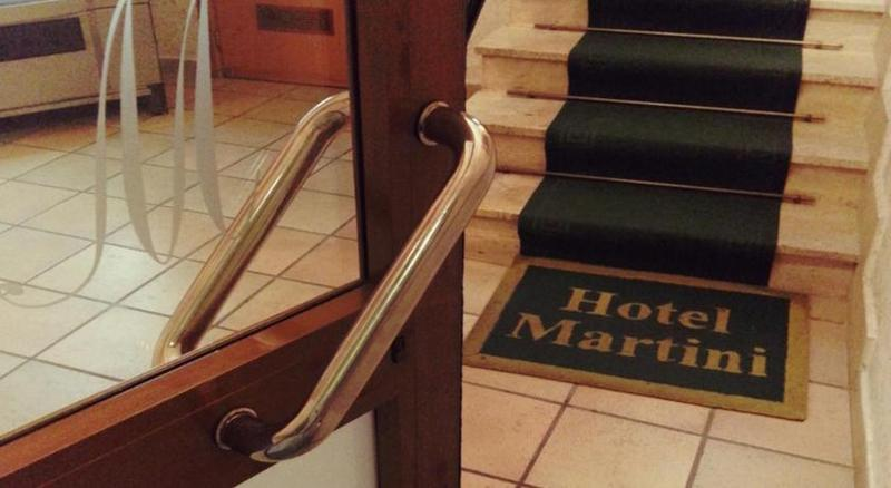 Lobby Hotel Martini