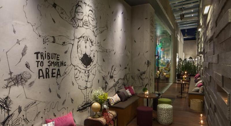 Lobby Artotel Thamrin Jakarta