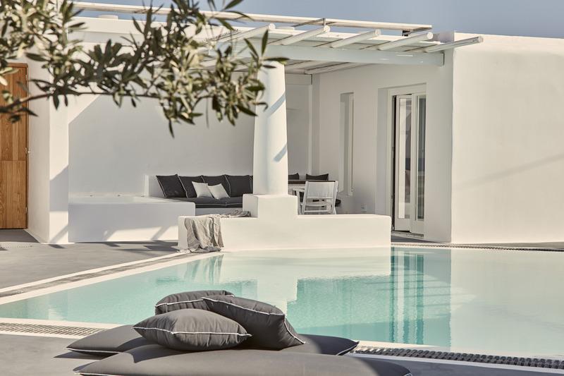 Pool Boho Suites Santorini
