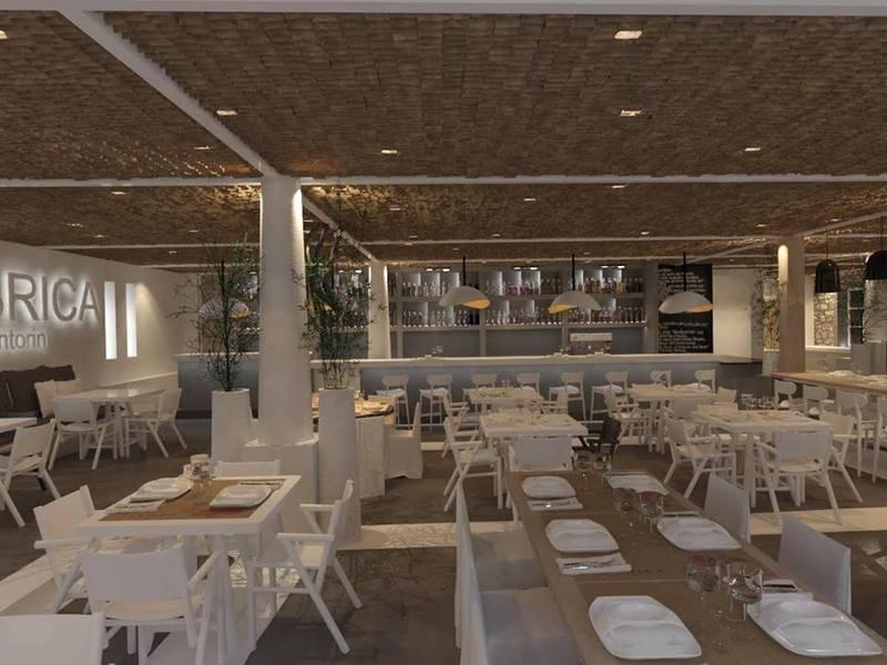 Restaurant Boho Suites Santorini