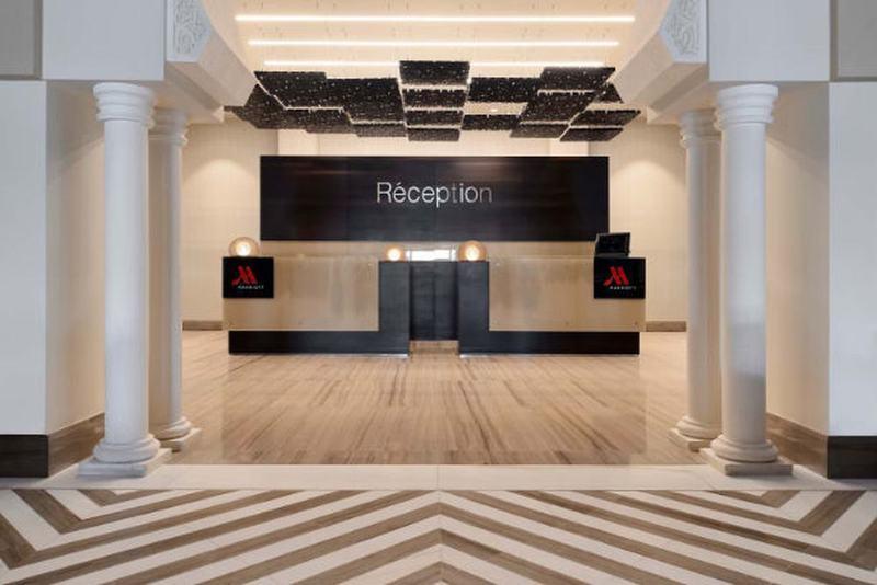 Lobby Constantine Marriott Hotel