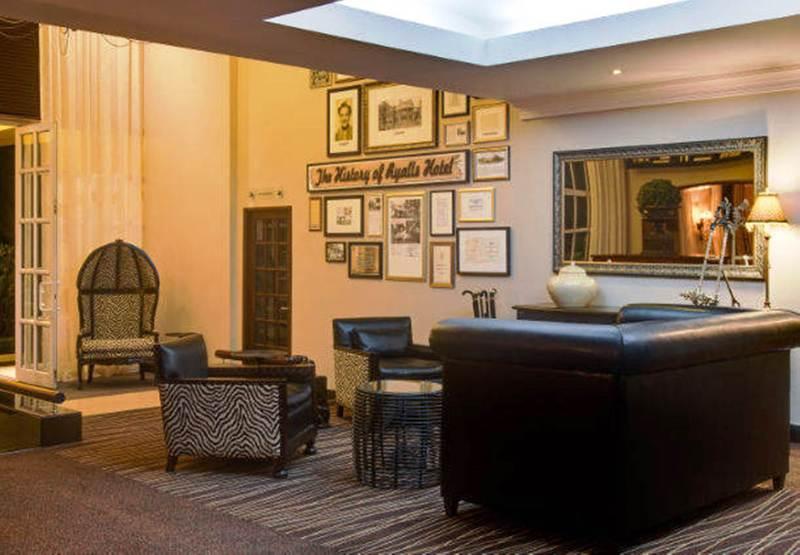 Lobby Protea Hotel Blantyre Ryalls