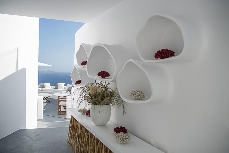 Lobby Canaves Oia Sunday Suites