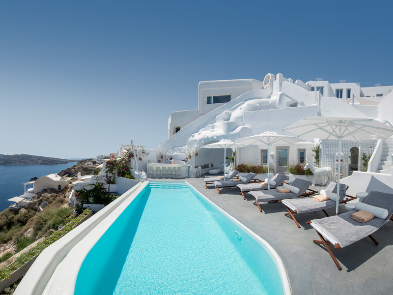 Pool Canaves Oia Sunday Suites