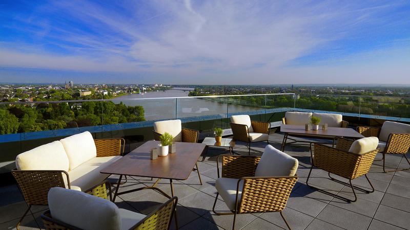 Terrace Marriott Bonn Hotel