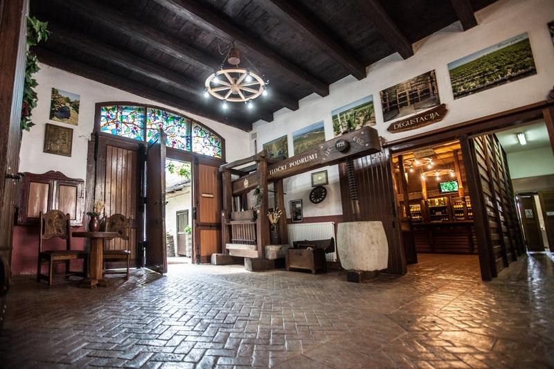 Lobby Hotel Stari Podrum