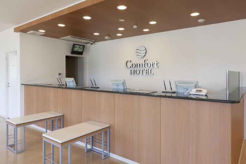 Lobby Comfort Hotel Kushiro