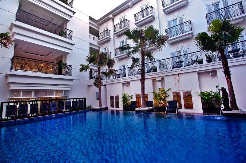 Pool Indies Heritage Hotel Jogjakarta